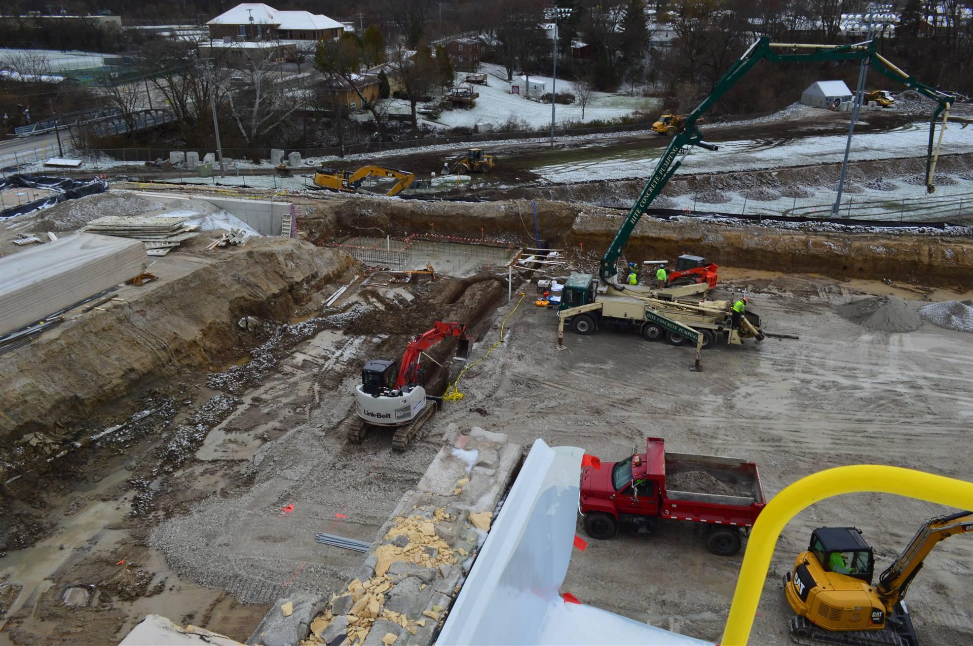Digging behind RHS