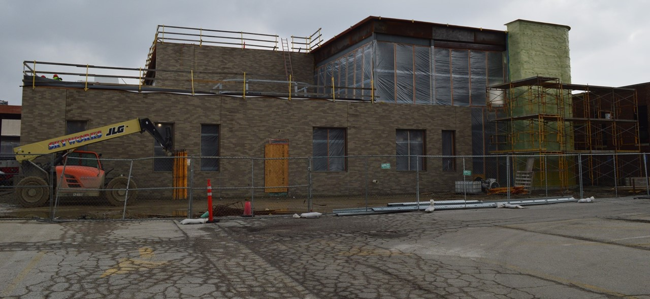 Construction of Rossford Elementary School