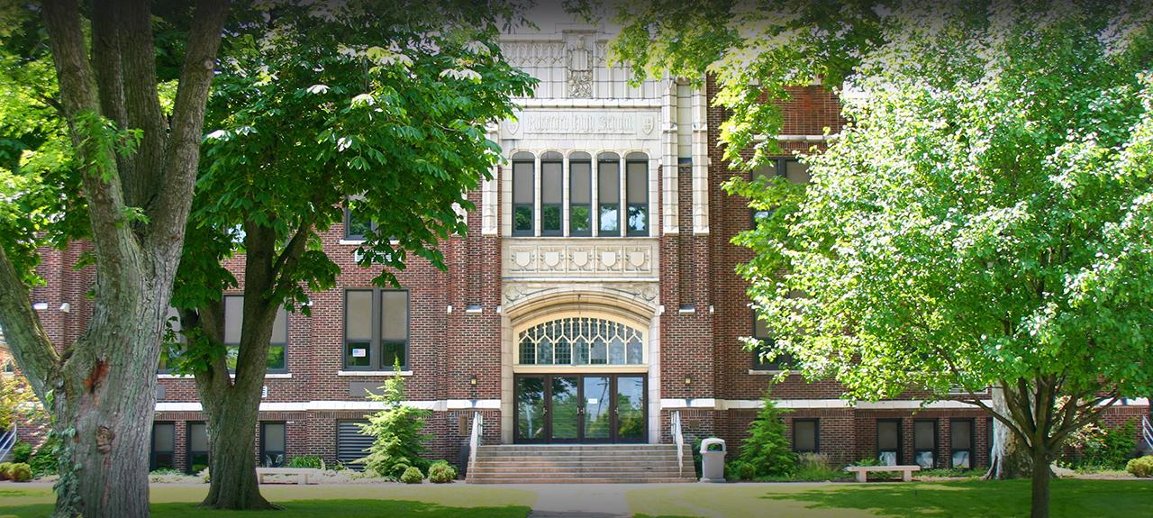 Rossford High School exterior