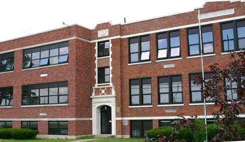 Front of Glenwood Elementary.