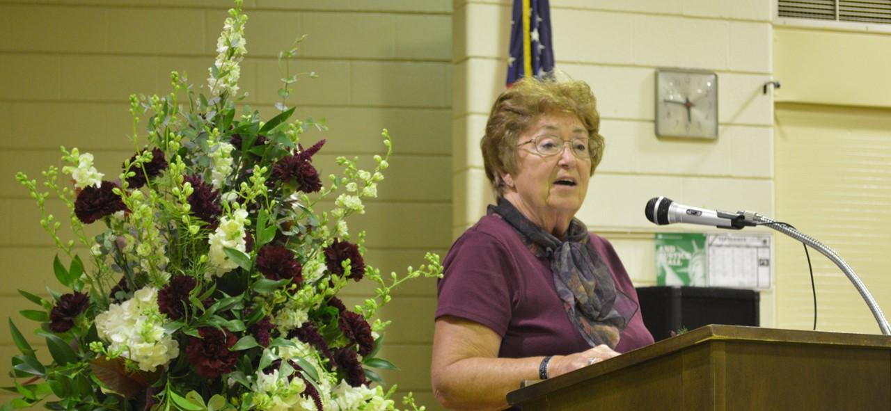 Sharon Belkofer speech