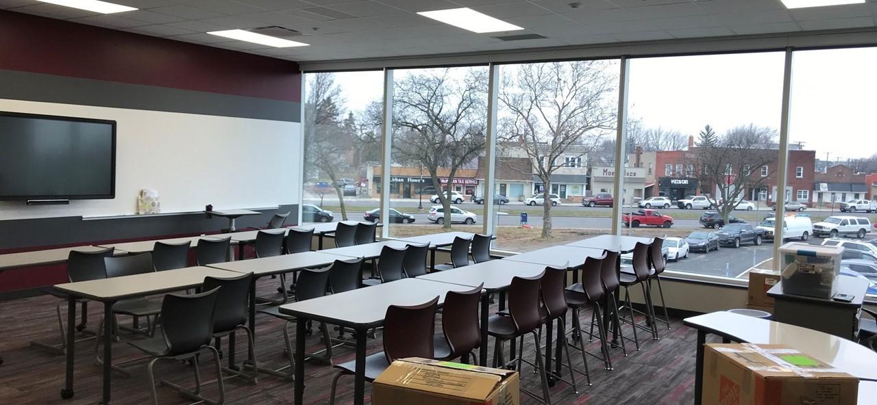 Classroom at Rossford Junior-Senior High School