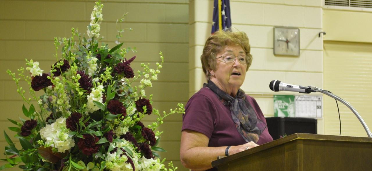 Sharon Belkofer Award of Distinction speech.