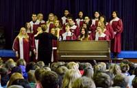 Choir performance at Eagle Point